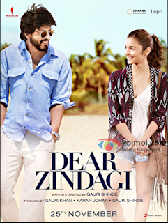 Dear Zindagi 2016 Hindi BRRip 200MB Mobile HEVC