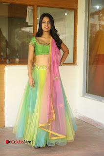 Actress Nikitha Bisht Stills in Lehenga Choli at Pochampally Ikat Art Mela Launch  0402.JPG
