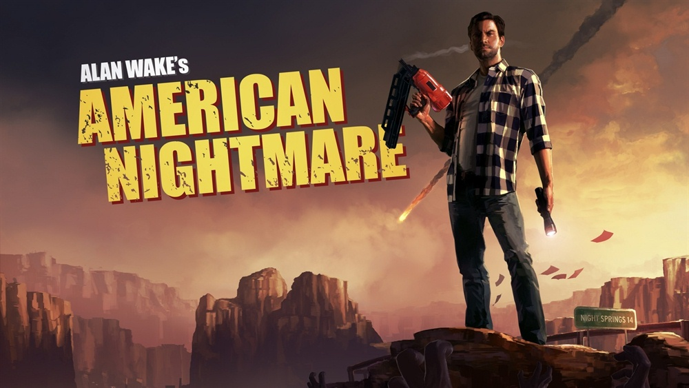 Alan Wake's American Nightmare Download Poster