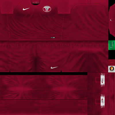PES 6 Kits Qatar National Team Season 2018/2019 by WindowOp