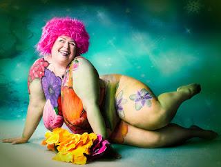 Богиня сливочной помадки - стихи о толстушках и для толстушек