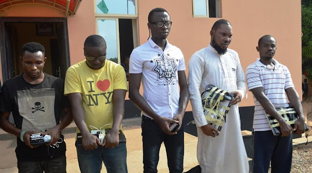 Juju, Cars, Laptops Recovered From Yahoo Boys