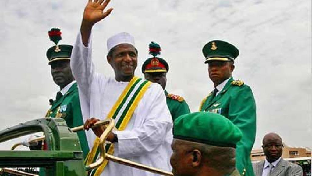 Image result for president Yar Adua,