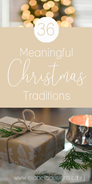 36 Meaningful Family Christmas Traditions | Make magical memories this Christmas! Christmas tradition ideas for you and your kids! Free printables!