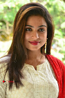 Telugu Actress Vrushali Stills in Salwar Kameez at Neelimalai Movie Pressmeet .COM 0094.JPG