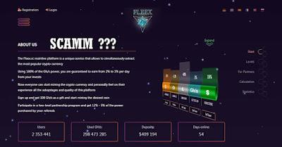 Situs Mining FLEEX.CC SCAM??? Benarkah???