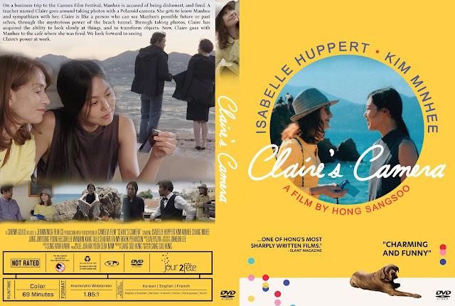 Claire's Camera DVD Cover