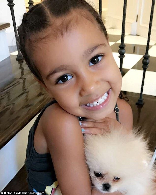 "North West Considering Naming Her Puppy ""Baby Jesus"""