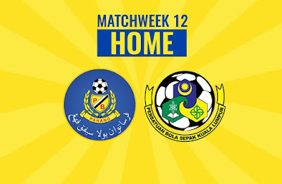 Live Streaming Pahang vs Kuala Lumpur Liga Super 25.5.2018