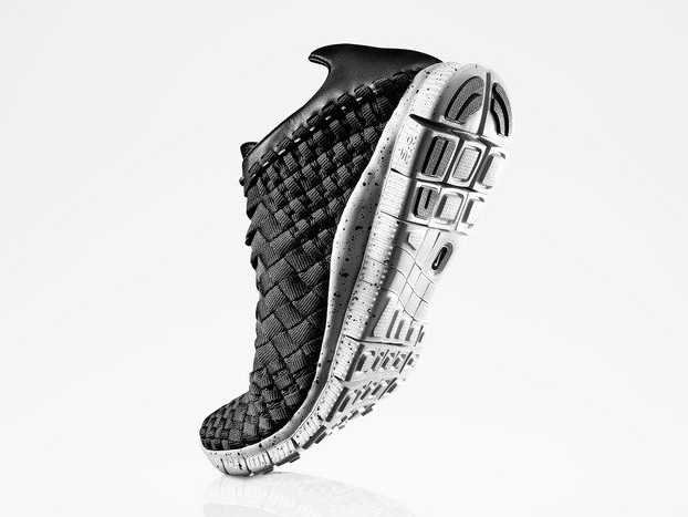 Nike s new sneaker is called the Inneva Woven and is made from an intricate  360-degree hand-woven system with interconnected laces and the nylon  webbing to ... d42ca37ca2