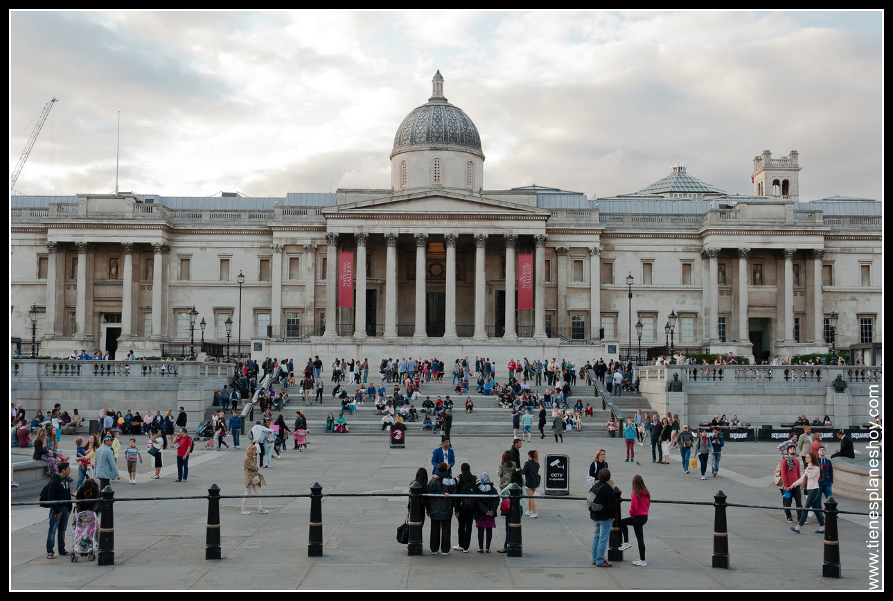 National Gallery Trafalgar Square Londres (London)