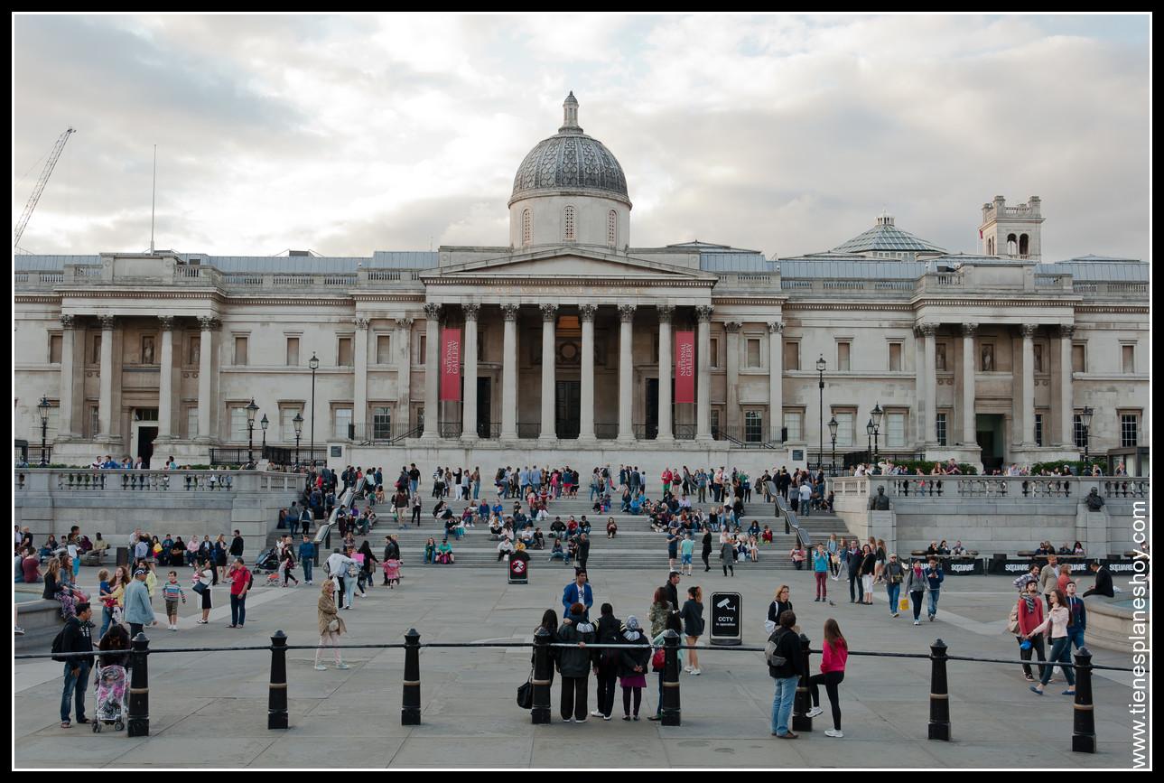 National Gallery Trafalgar Square Londres (London)
