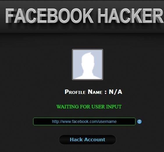 تهكير الفيسبوك أون لاين بإستخدام Facebook Hacker by Softholics