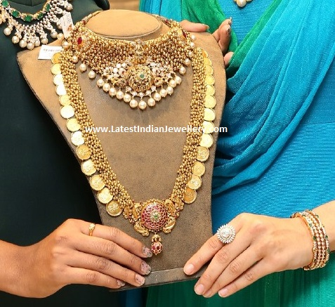 Lakshmi Choker and Kasu Mala