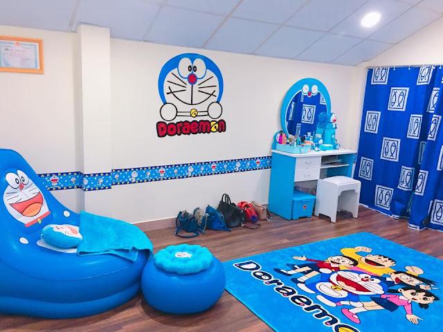 thiết kế phòng ngủ doremon 14