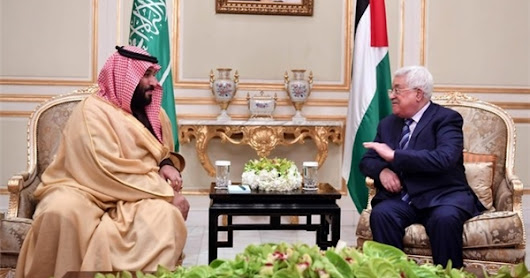 Saudi Crown Prince Tried to Persuade Abbas to Support US Peace Plan: Officials | EL Ethos UT