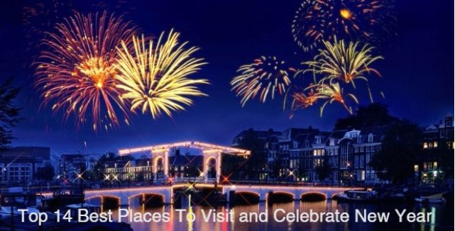 Top 14 Best Places To Visit and Celebrate New Year