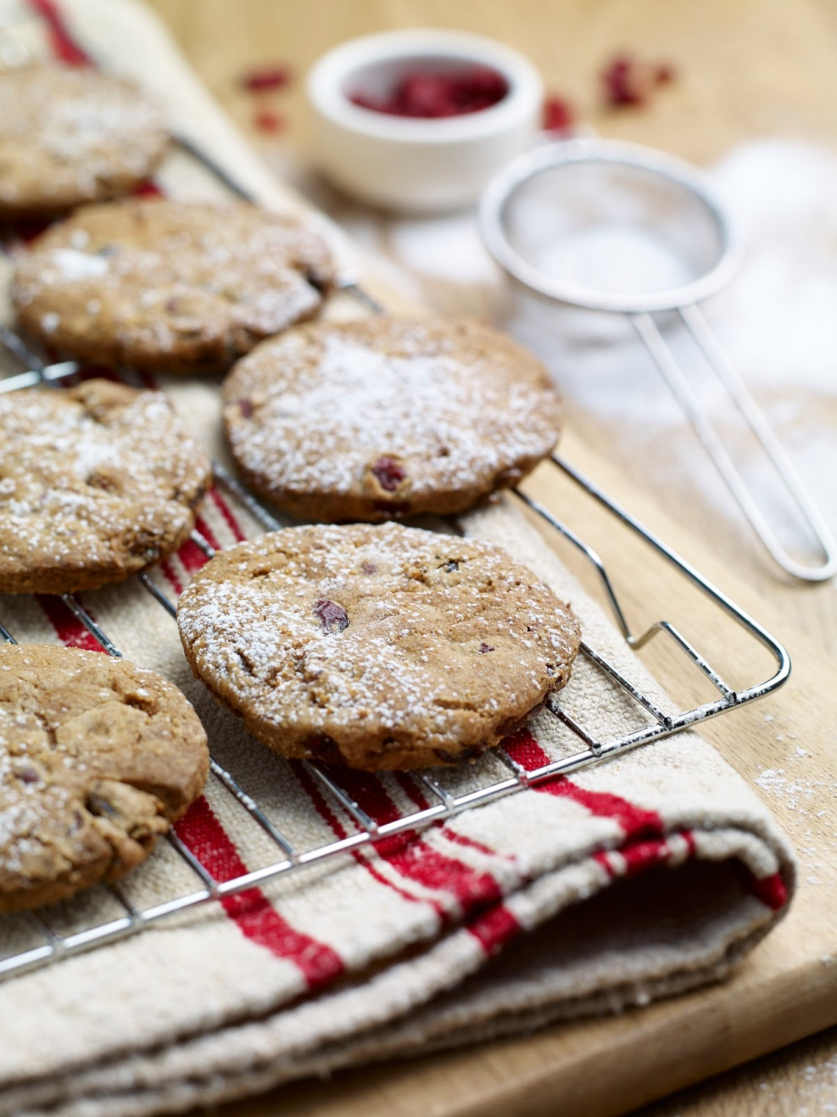 Anise, Almond and Cranberry Biscuits