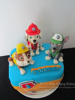 cake paw patrol