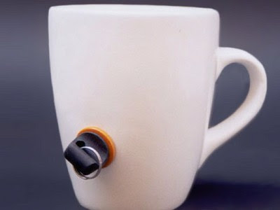 lockable coffee mug