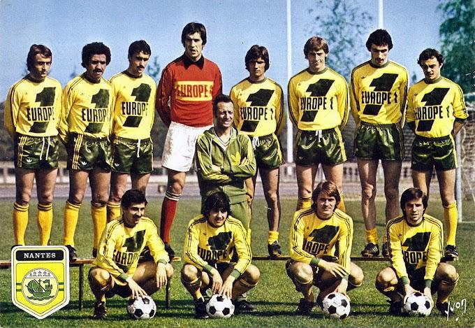 F.C NANTES 1977-78.