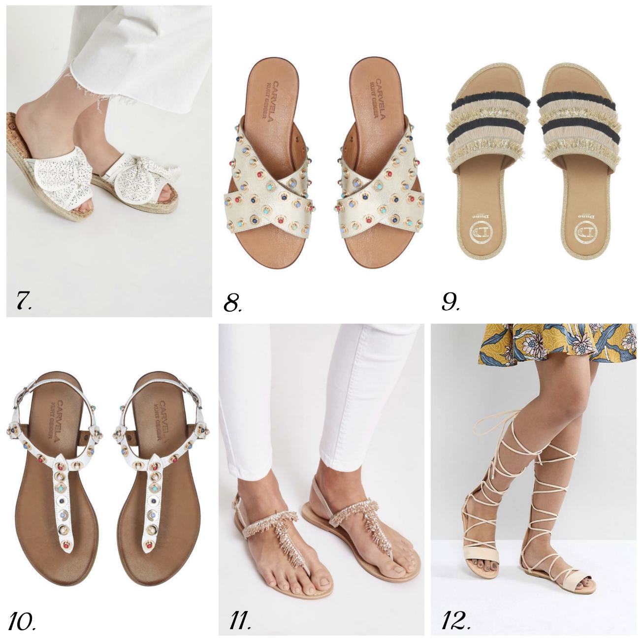 Summer footwear 2018