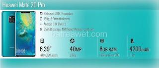 11. Huawei Mate 20 Pro