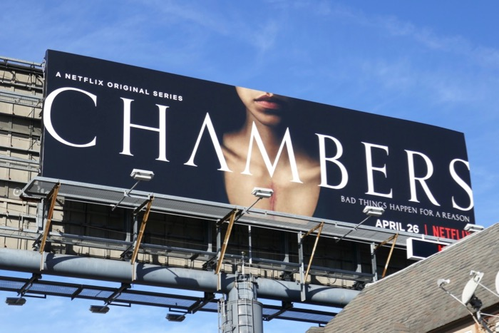 Chambers Netflix series billboard