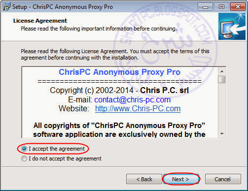 Free download ChrisPC Anonymous Proxy Pro for windows 8 32bit free