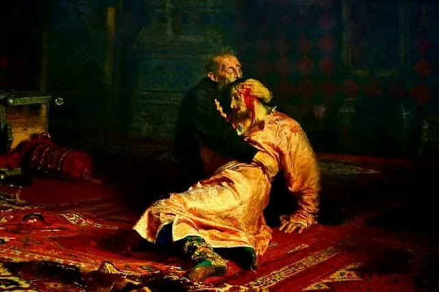لوحة إيفان الرهيب Ivan The Terrible