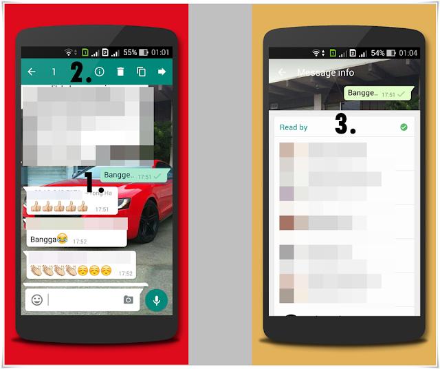 Cara Tahu Read By Dalam Group Whatsapp