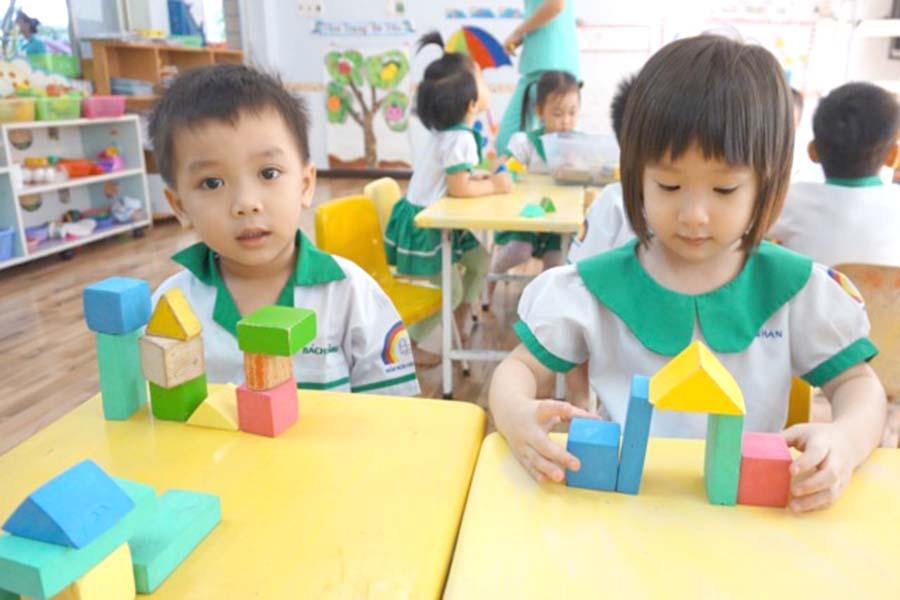 một số biện pháp cho trẻ làm quen với toán