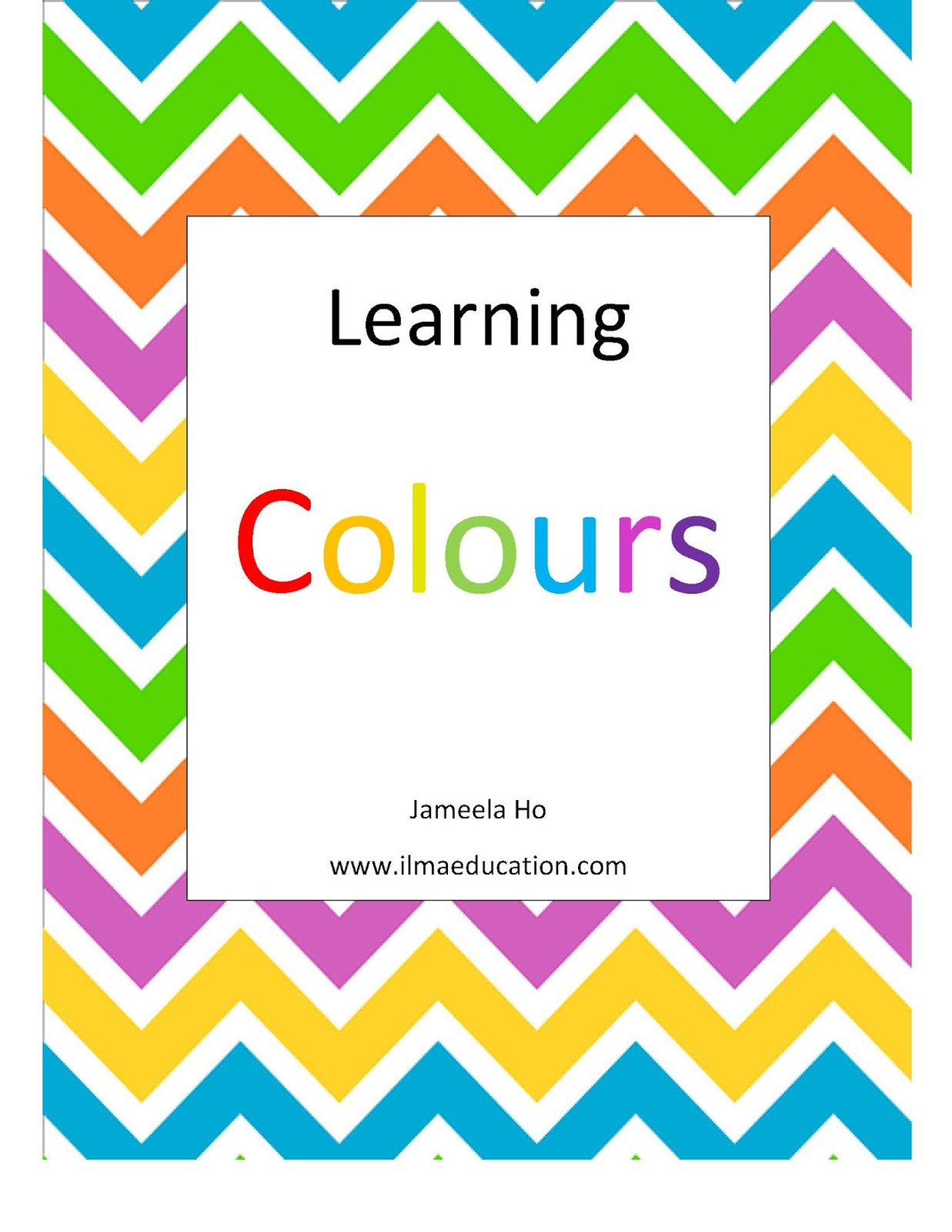 Ilma Education A Dress For Eid A Book Of Colours Book
