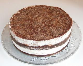 tort lasagna de ciocolata si frisca, prajituri cremoase, desert cremos, retete fara coacere, tort de casa fara coacere, cake,