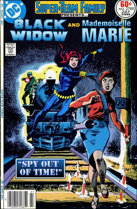 Super Team Family The Lost Issues Black Widow And
