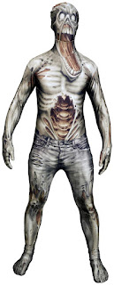 Monster Collection on the Zombie Adult Costume for Halloween