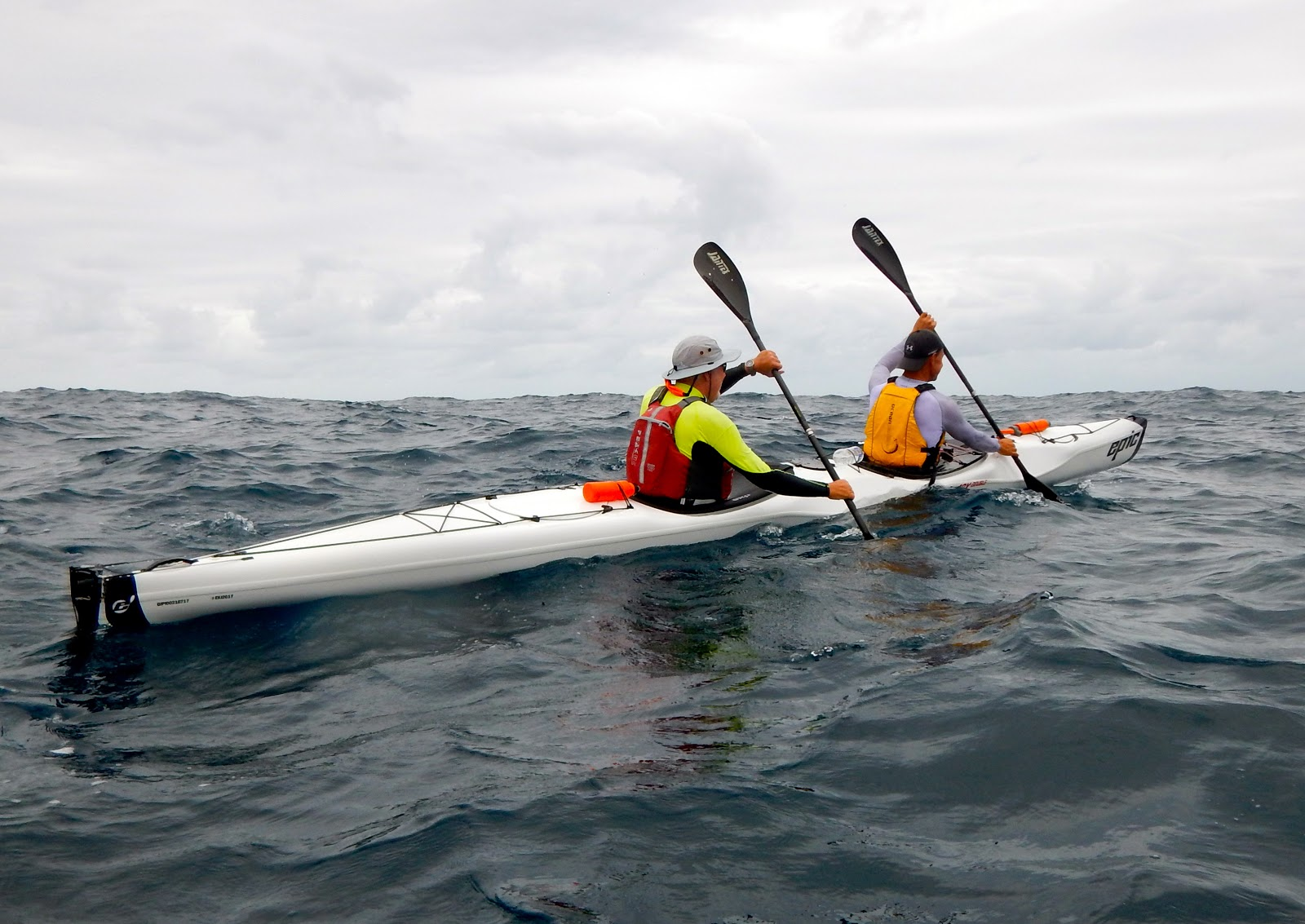 Epic Announced A New Double Touring Sea Kayak Late In 2017 And We Were Quick To Order Demo Seeing The Potential For Light Weight Stable Fast