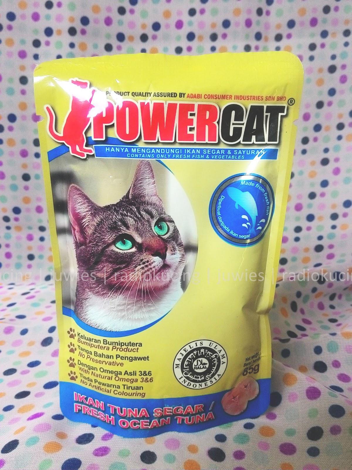 Review Makanan Kucing Basah Wet Food Power Cat Kemasan Pouch