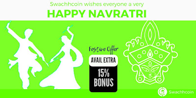Swachhcoin wishes everyone a very #HappyNavratri