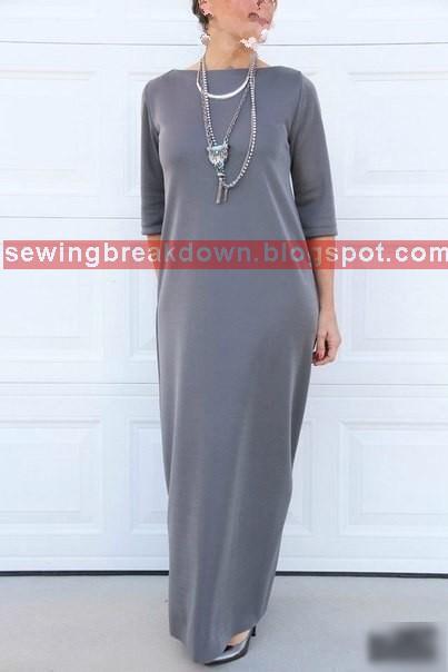 كيفية خياطة فستان بسيط بالصور خطوة بخطوة
