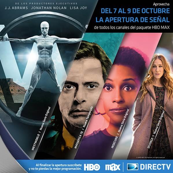 HBO MAX se libera del 7 al 9 de octubre en Ecuador