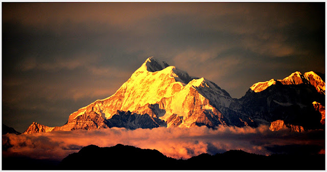 Nanda Devi (Second Highest Mountain Peak in India)