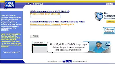 Cara Daftar Internet Banking BCA Melalui ATM-2