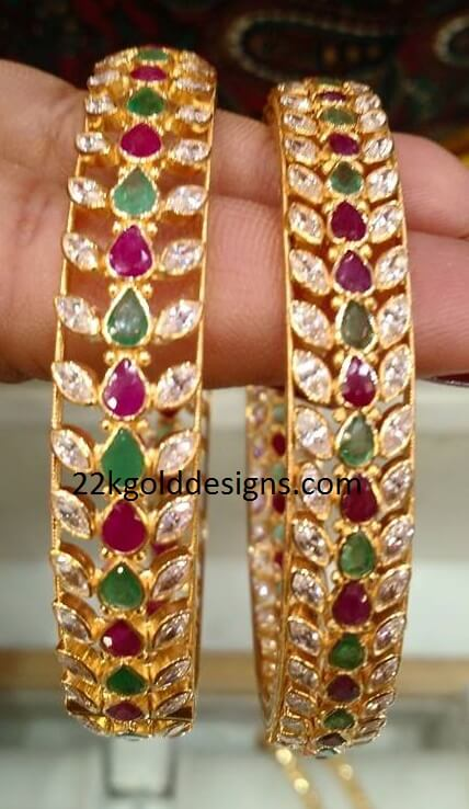 60 Grams Gemstone Bangles