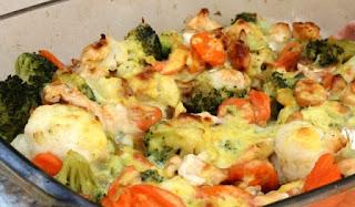 Verduras gratinadas