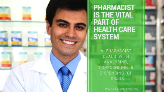 Role of Pharmacist in different fields