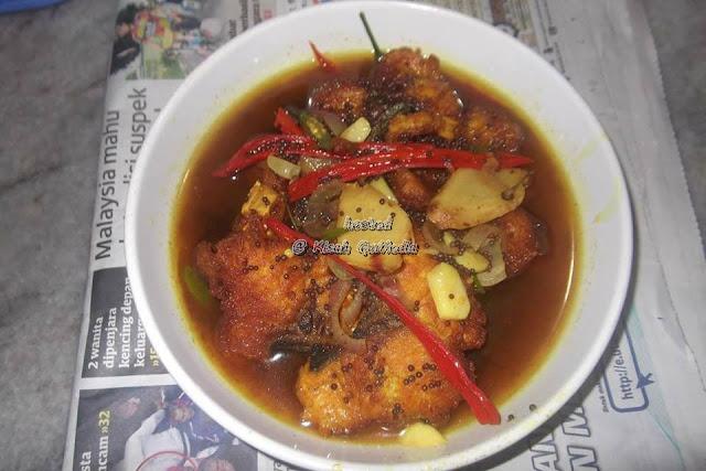 Ikan Mayong Masak Cuka Tradisional