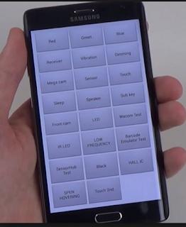 Cara Cek LCD HP Androd Semua Merk dengan Kode Rahasia