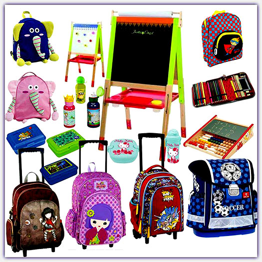Δείτε τις σχολικές τσάντες δημοτικού, γυμνασίου, λυκείου του Carousel