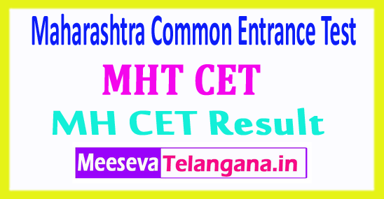 Maharashtra Common Entrance Test MHT CET Result 2018